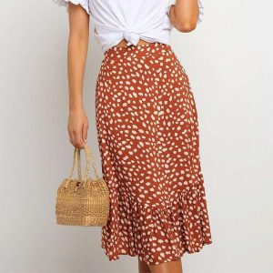 Hippie Skirt Woman