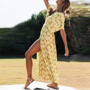 Bohemian Maxi Long Dress