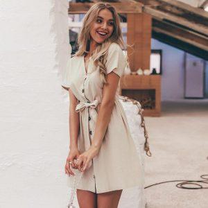 Hippie Vintage Short Dress