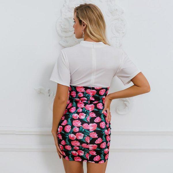 Esprit Bohemian Floral Short Dress
