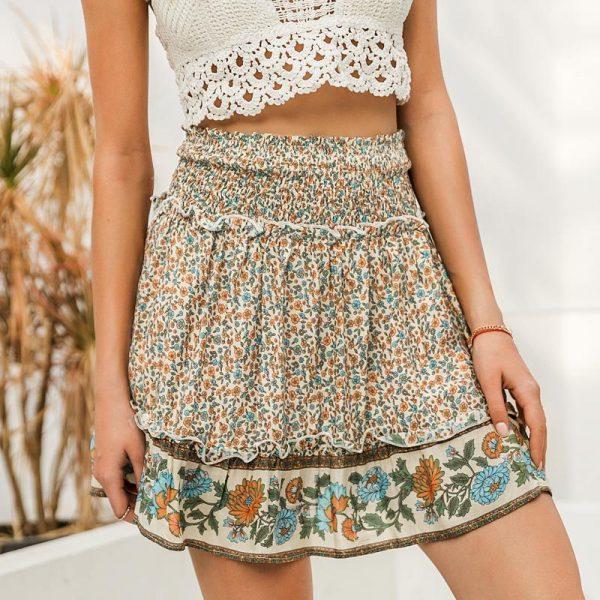 Bohemian Hippie Girl Skirt