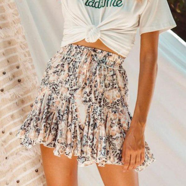 Bohemian Women's Short Skirt