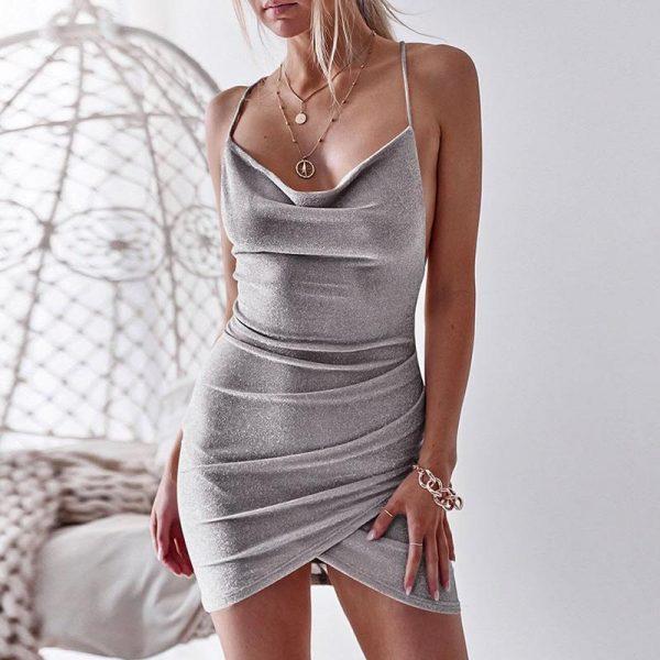 Hippie Bare Back Dress