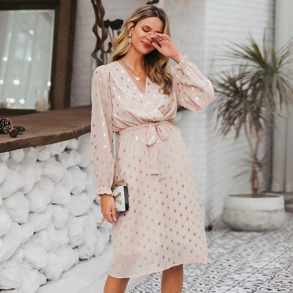 Bohemian Short Dress Chic And Trendy