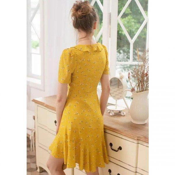 Bohemian romantic dress