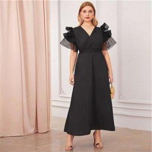 Dress boheme floral large size