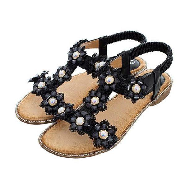 Boho Flower Sandals