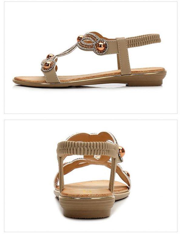 Bohemian Wedding Flat Sandals