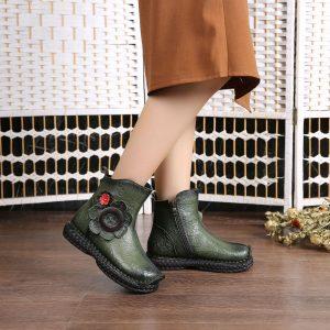 Bohemian Floral Boots
