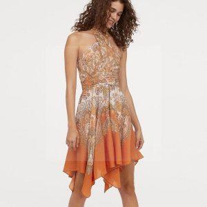 Bohemian chic halter dress