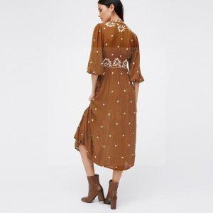 Bohemian chic dress winter 2019