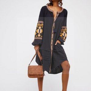 Bohemian dress cotton veil