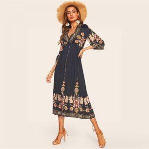 Bohemian style dress spirit