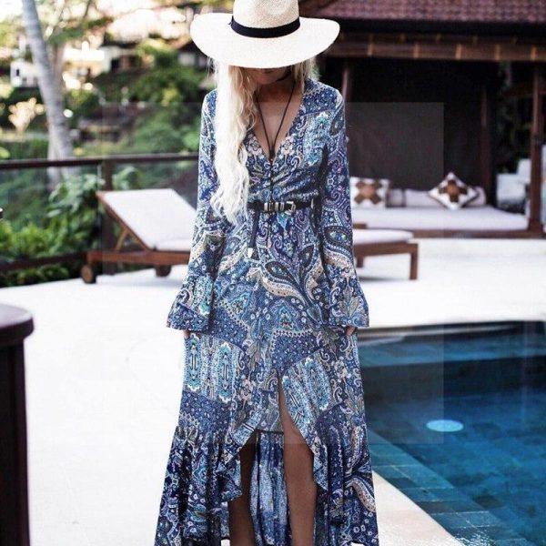 Dress boho hippie chic style